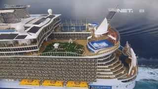 NET17 - Kapal pesiar terbesar di dunia dijuluki Kota Terapung
