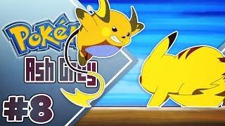 Raichu  - (Pokémon) - Pokémon Ash Gray Ep.8 - SUPER RAICHU vs HAAAX
