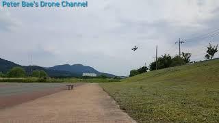 #19 Racing drone acro mode practice 레이싱 드론 아크로 모드 시계비행 연습
