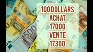 Prix d'euro en algerie marché noir aujourd'hui 02 Avril 2021/ Taux de change Cours dollars devise
