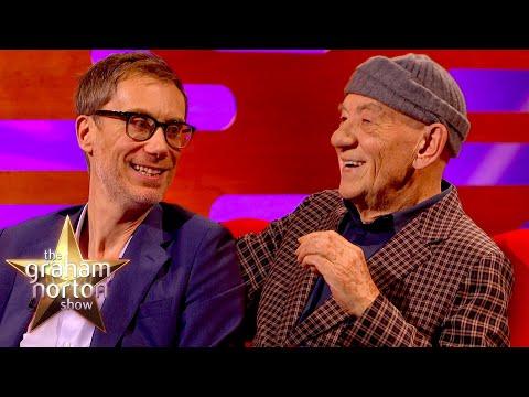 Stephen Merchant a Ian McKellen o své spolupráci