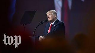 Trump addresses CPAC