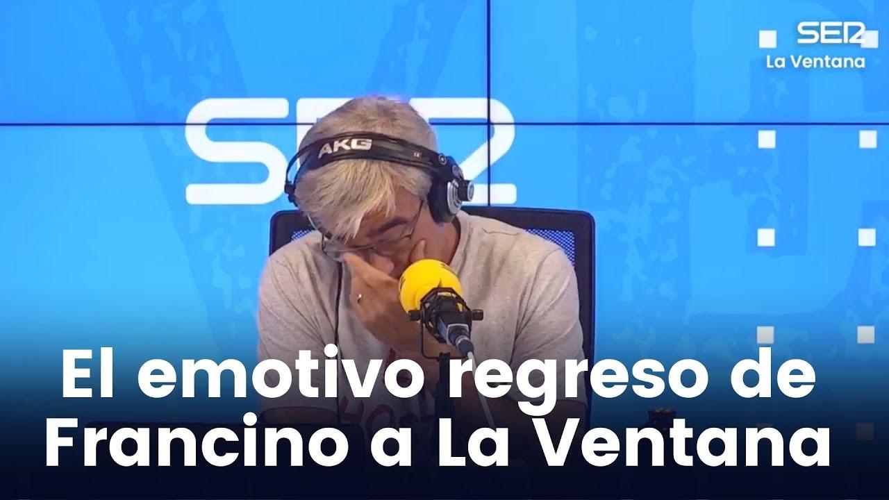"""L'emocionat retorn de Carles Francino després de superar la covid: """"Les vaig passar de tots colors"""""""