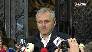 Dragnea, după CEx: Componența noului Guvern, votată vineri, la ședința CEx PSD