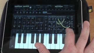 KORG iMS-20 for iPAD high quality sound