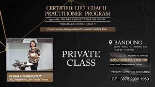 Teman Sharing: Certified Life Coach Practicioner Program