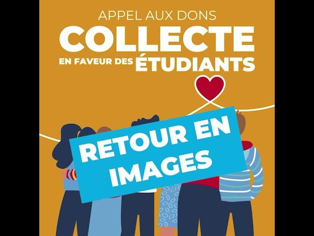Retour en images - Collecte pour les étudiants : les Baulois ont du cœur