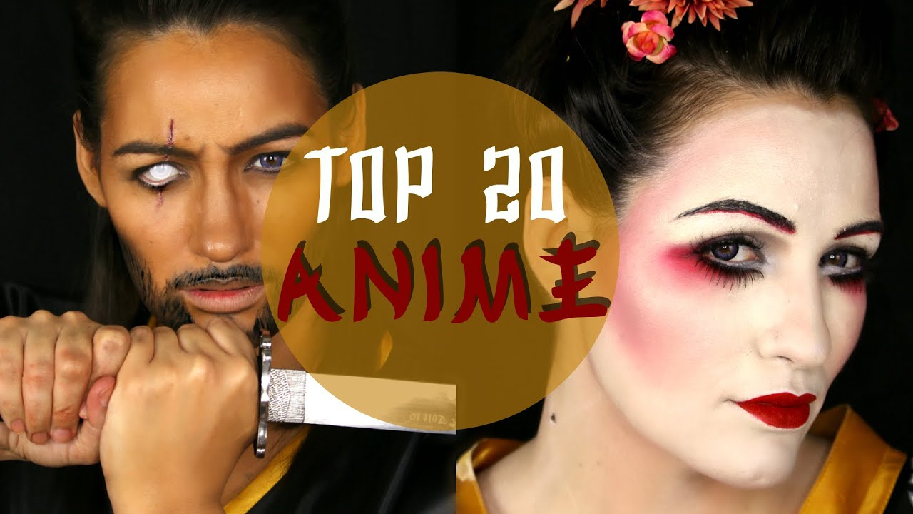 NYX SPAIN FACE AWARDS Top20 Challenge ANIME #teamnona