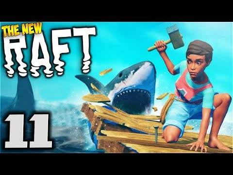 Sea Home - Raft Gameplay - Part 11 [Let's Play Raft Game