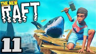 Raft - SECRET MYSTERIOUS UTOPIA CITY & RADIO SIGNAL! Atlantis