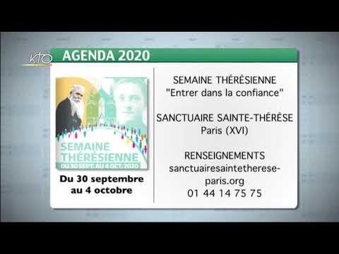 Agenda du 21 septembre 2020