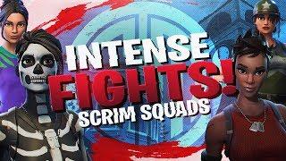 INTENSE Final Scrim Fights! Squad Win Ft. TSM Kaysid, E11 General & Vicaros (Fortnite BR Full Match)