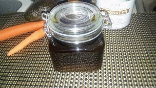 How to prepare Carrot, Avocado and Coconut Oil Recipe:  Promotes healthy rapid Hair growth!