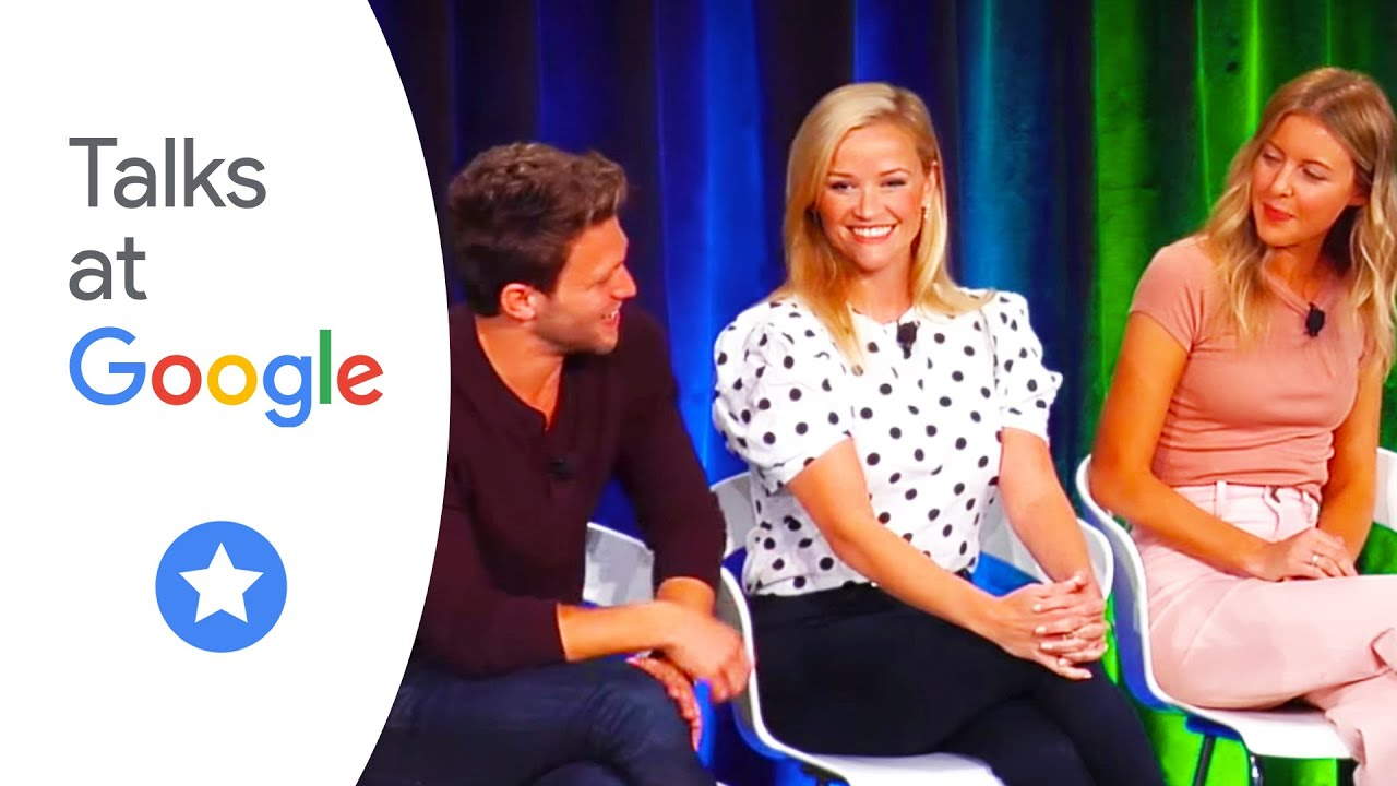 "Reese Witherspoon, Jon Rudnitsky, and Hallie Meyers-Shyer stop by Google NYC to talk about their new movie ""Home Again."""