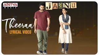 Theeraa Lyrical Video (Tamil)   Jaanu   Chinmayi   - YouTube