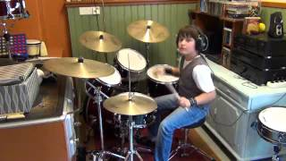John Fogerty - Comin' Down the Road (Live) - Drum Cover