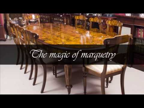 The Magic Of Marquetry - Bespoke Handmade Dining Tables From Regent Antiques