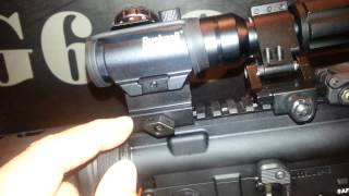 """BUSHNELL TRS-25 Red Dot Scope with UTG RS10S3 1"""" Riser Review"""