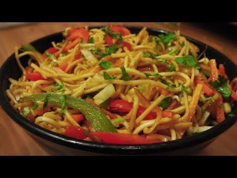 Veg Hakka Noodles Recipe – Indo Chinese Cuisine