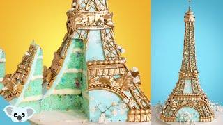 Eiffel Tower Cake Ideas   Amazing Cakes How To   Koalipops