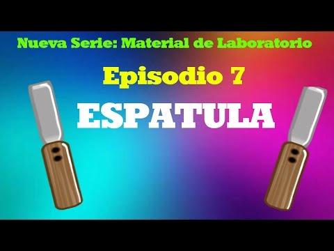 Espatula - Serie: Instrumento de Laboratorio - La Leyenda en Ciencias
