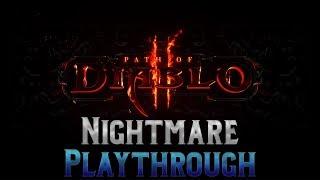 Path of Diablo playthrough - Nightmare - Fire Druid 02/19/2019