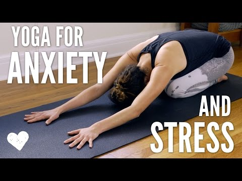 Yoga For Anxiety and Stress