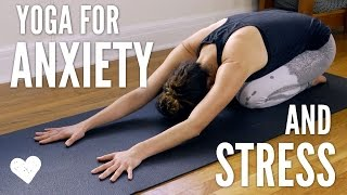 Yoga For Anxiety and Stress by Yoga With Adriene