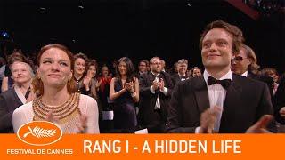 A HIDDEN LIFE   Rang I   Cannes 2019   VF