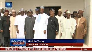 Saraki, Ahmed, Tambuwal Meet PDP Leaders  Politics Today 