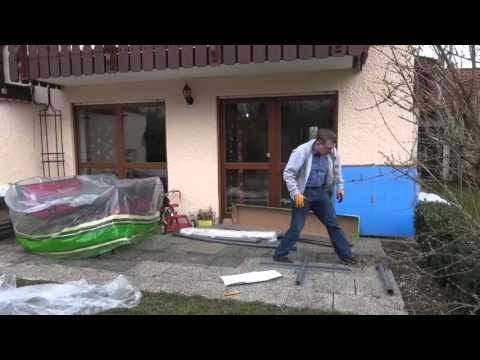 Lidl Florabest Ampelschirm / Cantilever Parasol