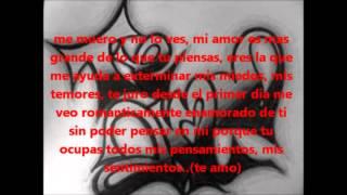 base de rap + letra Te Amo  El Cali ; Para Cantar (( Karaoke ))