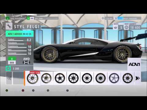 Forza Horizon  Tuning Ford Gt Horizon Edition