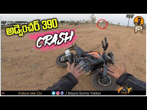 Crashed My KTM Adventure 390 | Telugu Moto Vlogs | Bayya Sunny Yadav