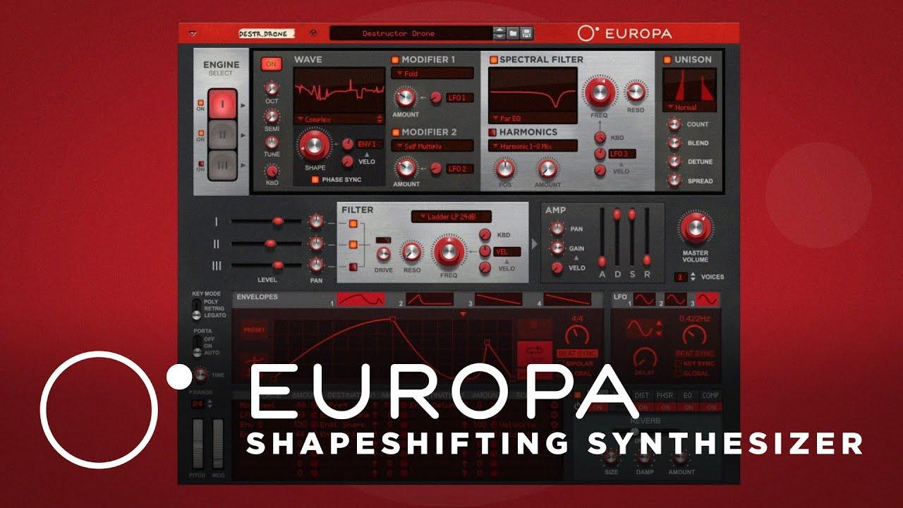 Europa by Reason   Propellerhead
