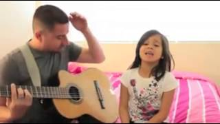Father and Daughter sing What's Up, What's Going On, 4 NON Blondes, awesome