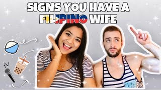 12 SIGNS YOU ARE MARRIED/DATING A FILIPINA | The Fab Beuchat