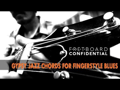 Gypsy Jazz Guitar Chords for Fingerstyle Blues