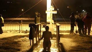 Крещение в пермских купелях