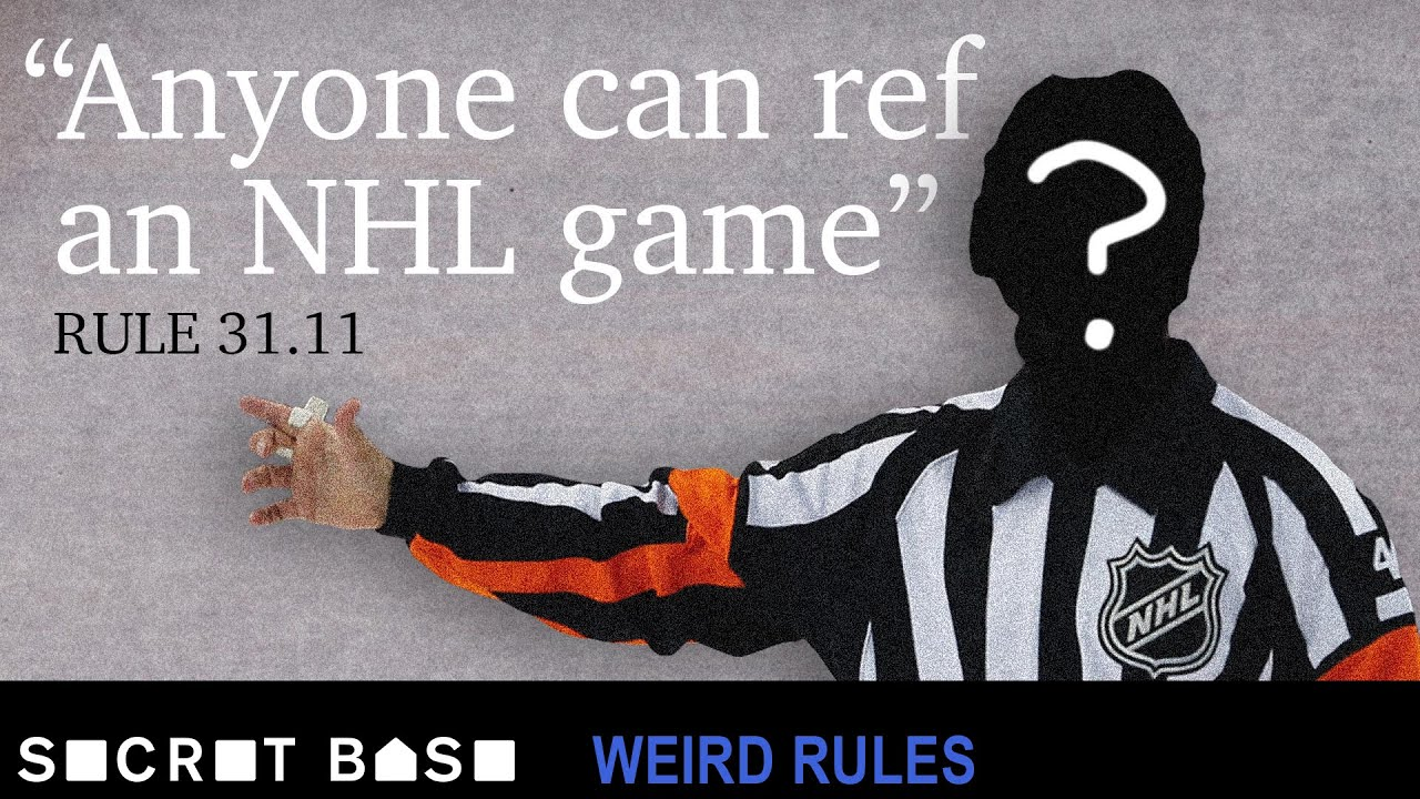 Why two NHL players had to ref their own game thumbnail