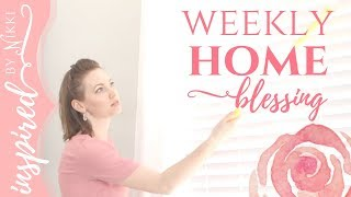 FLYLADY WEEKLY HOME BLESSING | CLEAN WITH ME