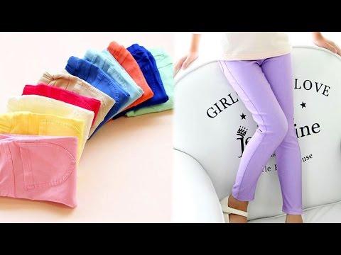 Летние детские обтягивающие штанишки-леггинсы из Китая. Aliexpress