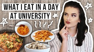 What I Eat in a Day | University 2017 | ohhitsonlyalice