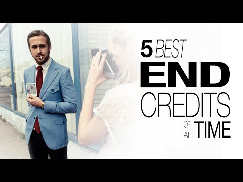 5 Best End Credits of All Time