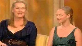 Meryl Streep and Amanda Seyfried on The View (2/2)