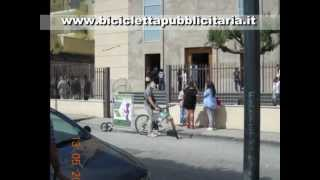 preview picture of video 'Bicicletta Pubblicitaria Sant'Antimo - Napoli'