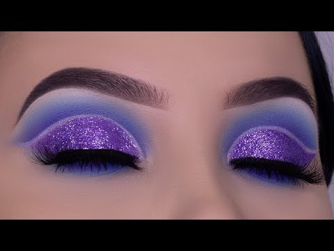 Crystal Purple Cut Crease Tutorial