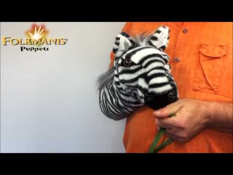 plyšová Maňásek zebra