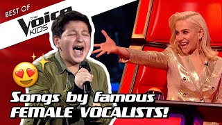TOP 10 | The most ICONIC POP DIVA songs in The Voice Kids! 👸