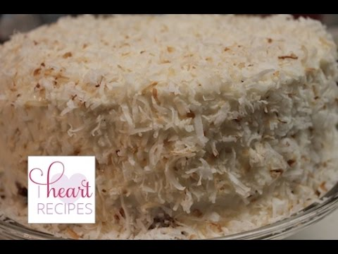 Video Coconut Cake from scratch - Moist, Light, and Fluffy | I Heart Recipes